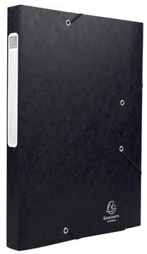 Exacompta Elastobox Cartobox rug van 2,5 cm, zwart, 5/10e kwaliteit