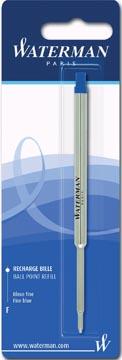 Waterman vulling voor balpen fijn, blauw, op blister