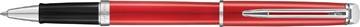 Waterman roller Hémisphère Red Comet met palladium detail
