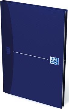 Oxford OFFICE Essentials gebonden boek, 192 bladzijden, gelijnd, ft A5, original blue