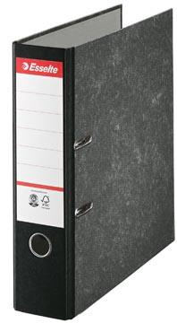 Esselte ordner, ft A4, rug van 7,5 cm, karton, zwart