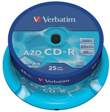 Verbatim CD recordable, spindel van 25 stuks