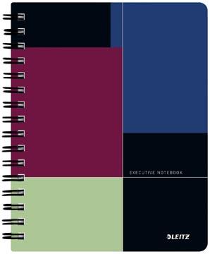 Leitz Executive notitieboek, ft A5, geruit 5 mm