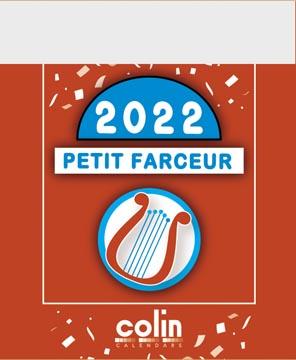Dagblokkalender Petit Farceur 2022