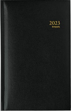 Brepols Interplan Lima, zwart, 2022