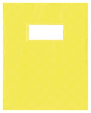 schriftomslagen geel