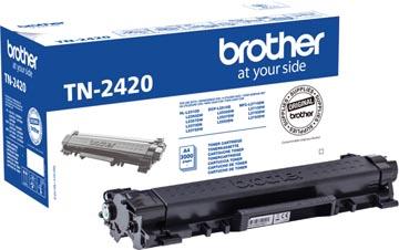 Brother toner, 3.000 pages, OEM TN-2420, noir